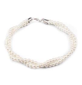 Náhrdelník z voskovaných perel
