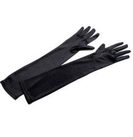 Společenské saténové rukavice