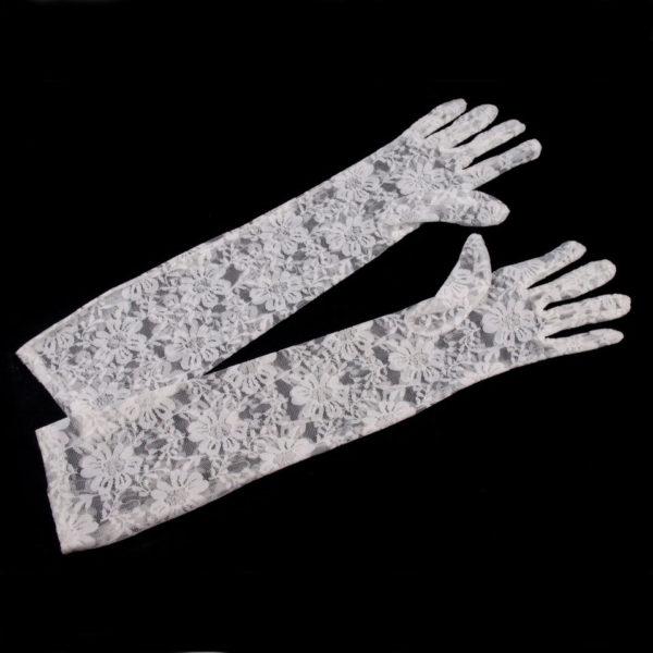 Společenské krajkové rukavice